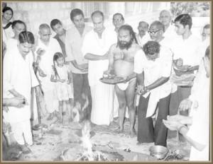 how to become a swamiji