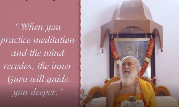 Retreat Satsang With Shri Shivarudrabalayogi : Quote 2