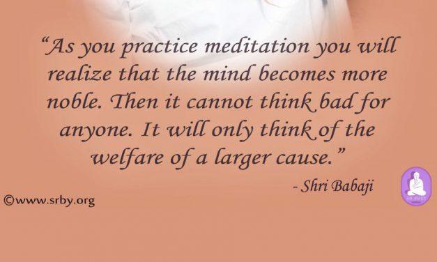 Retreat Satsang With Shri Shivarudrabalayogi : Quote 4