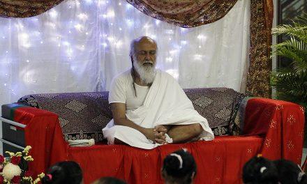 Shri Babaji's visit to Primus College
