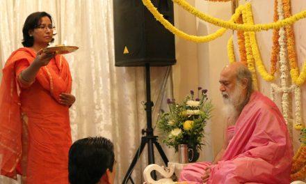 April Blessings with Shri Babaji